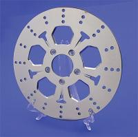 J&P Cycles® 5-Spoke Polished Rotor