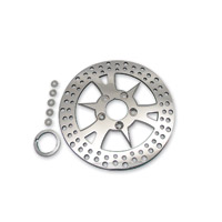 J&P Cycles® Edart Stainless Steel Rotor