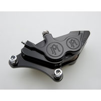 Performance Machine Direct Bolt-on 4 Piston Front Brake Caliper
