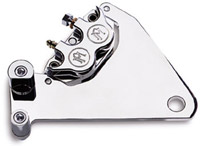 Performance Machine Direct Bolt-On Rear Caliper for Sportster Polished