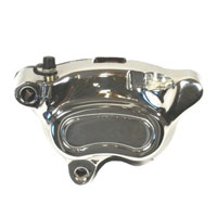 Biker's Choice Chrome Front Left Caliper