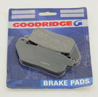 Goodridge Organic Front Brake Pads for Sportster