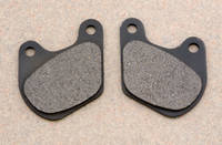 Goodridge Organic Front/Rear Brake Pads for FLHT and Sportster