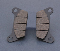 Goodridge Organic Rear Brake Pads for FLT