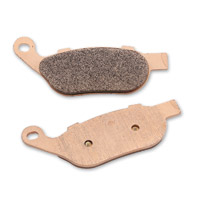J&P Cycles® Sintered Stock Replacement Rear Brake Pads for Models with Brembo Brakes