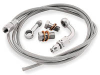Goodridge Stainless/Chrome +6 Front Brake Line Kit