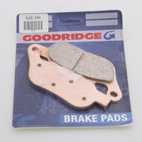 Goodridge Sintered Rear Brake Pads for All Softail and Dyna Models