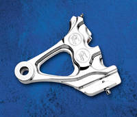 Performance Machine Direct Bolt-on 4-Piston Rear Caliper