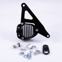 GMA 200E Front Single Disc Brake and Bracket FX & Sportster Models 1974-E77 Classic Black