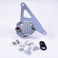 GMA 200E Front Single Disc Brake and Bracket FX & Sportster Models 1974-E77 Classic Chrome