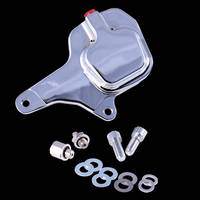 GMA 200F Front Single Disc 1984-99 FL, FX and XL Front Brake Kit Smooth Chrome