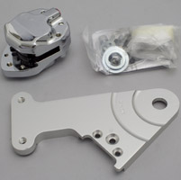 GMA 203 Rear Brake Kit Classic Clear Anodized