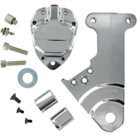 GMA 204 Rear Brake Kit Classic Clear Anodized
