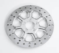 Roland Sands Design Chrome Diesel Front Brake Rotor