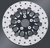 Roland Sands Design Contrast Cut Domino Front Brake Rotors