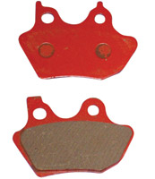Lyndall Racing Brakes Red Plus Compound Brake Pads