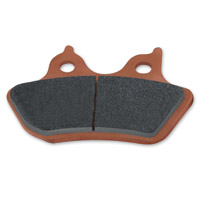 Hawk Performance Sintered Front or Rear Brake Pads for Dyna, Softail, XL, Touring and V-Rod