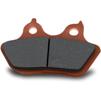Hawk Performance Sintered Rear Brake Pads for Softail