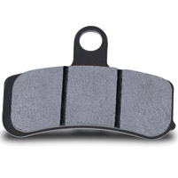 Hawk Performance Organic Front Brake Pads for Dyna and Softail