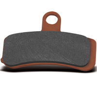 Hawk Performance Sintered Front Brake Pads for Dyna and Softail