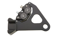 Performance Machine Direct Bolt-On Rear Caliper for Sportster Contrast Cut