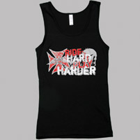 Rebel Girl Ride Hard Play Harder Tank Top