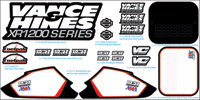 Vance & Hines XR1200 Decal Kit