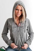 Easyriders Heartburn Full Zip Hooded Sweatshirt