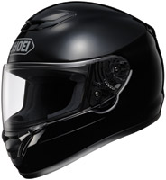 Shoei Qwest Black Full Face Helmet with Noise Reduction