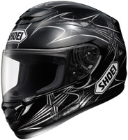 Shoei Qwest Neuron TC-5 Black Full Face Helmet with Noise Reduction