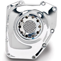 JIMS Cam Cover Heat Sink in Chrome