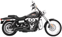 Freedom Performance Exhaust Black Sharp Curve Radius System