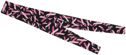 ZAN headgear Breast Cancer Black Cooldanna