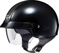 HJC IS-2 MC-5 Schade Black Half Helmet