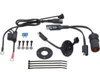 Powerlet Basic Luggage Electrix Tank Bag and Saddlebag Power Kit