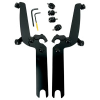 Memphis Shades Sportshield Black Trigger-Lock Mount Kit - Models Without Lightbar
