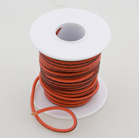 Novello 2-Color Orange/Black Custom Wiring