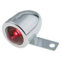 J&P Cycles® Bullet Light with Mounting Bracket