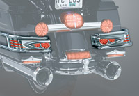 Kuryakyn Aerion Lightbar for Electra Glide Classic and Ultra Classic