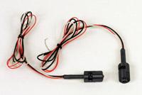 Custom Dynamics Universal Black Dual Color LED Tag Boltz with Amber Rear LEDs