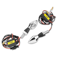 BikeMaster LED Black Micro Bright Turn Signals