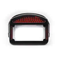 CycleVisions Eliminator Black LED Taillight/License Plate Frame for Touring Models