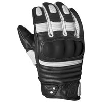 Roland Sands Design Apparel Men's Berlin Black/White Gloves