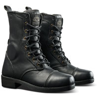 Roland Sands Design Apparel Women's Cajon Black Leather Boots