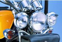 Show Chrome Accessories 4-1/2″ Spotlight Visors