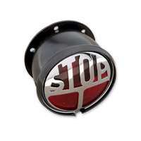 "J&P Cycles® 12-Volt Round ""Stop"" Taillight"