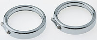 V-Twin Manufacturing Frenched Trim Ring Set