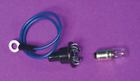 V-Twin Manufacturing Speedometer and tachometer Lamp Socket