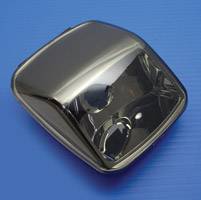 V-Twin Manufacturing Smooth Smoke Tail Lamp Lens