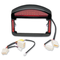 CycleVisions Eliminator LED Taillight License Plate Frame